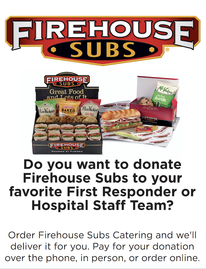 Get Firehouse Subs for Your Favorite Team