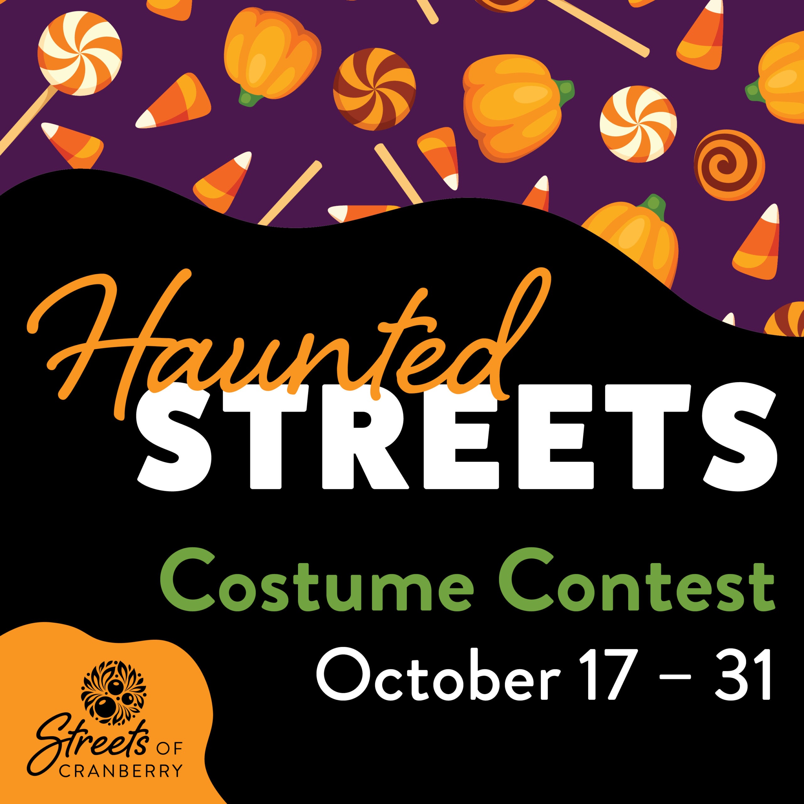 Enter our Halloween Haunted Streets Costume Contest