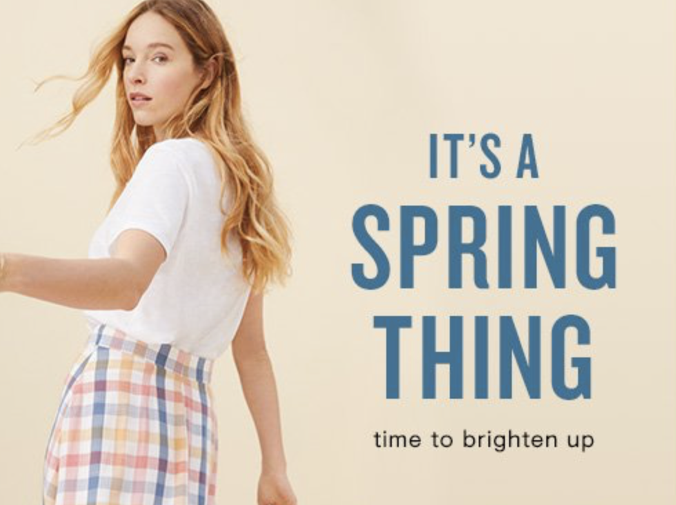 Save 50% on Spring Styles!