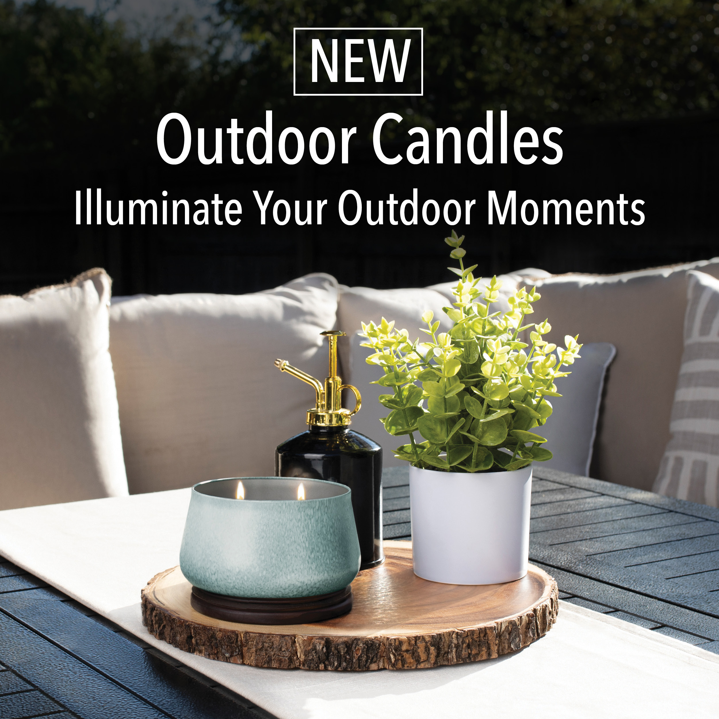 NEW Outdoor Candles