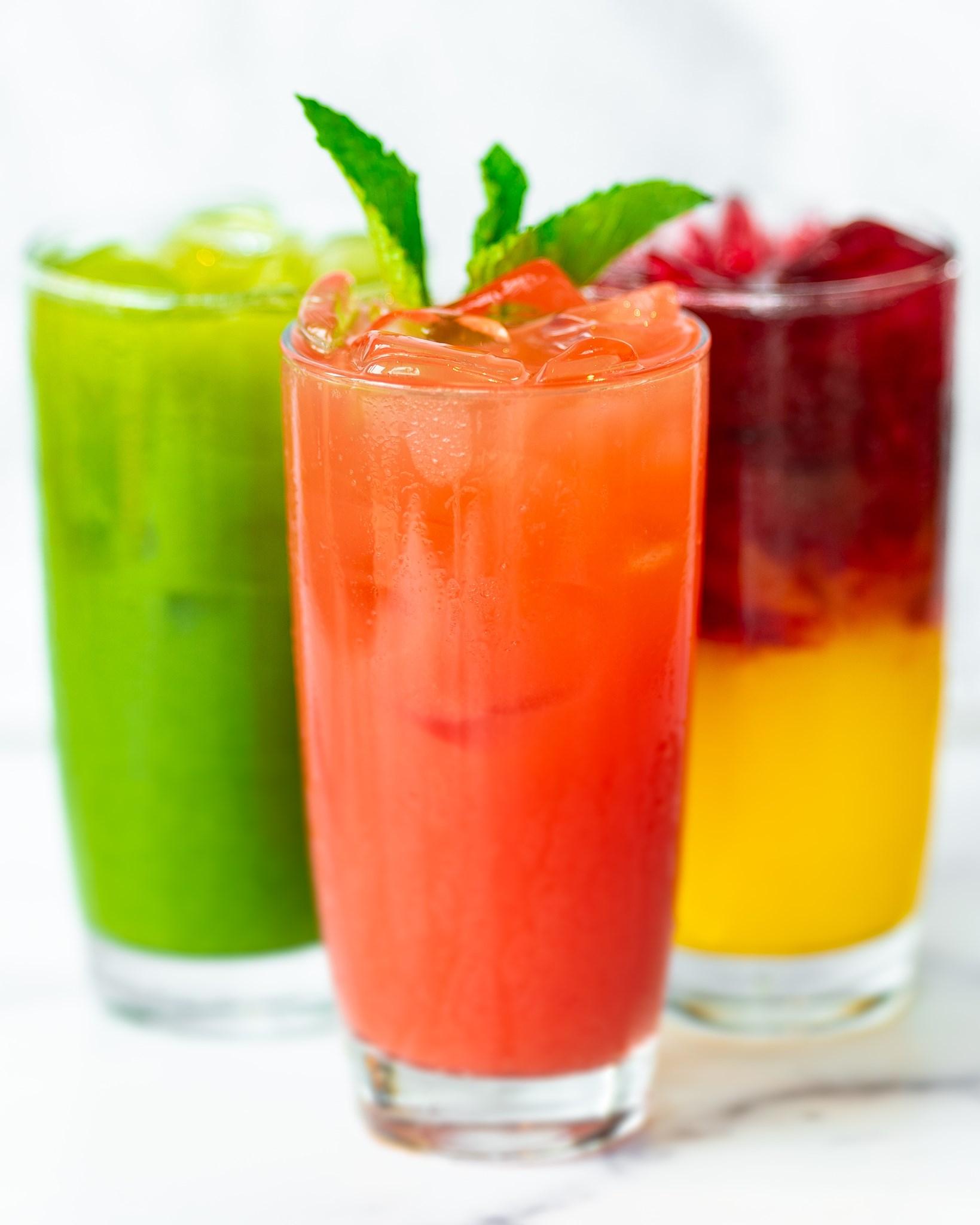 Savory Summer Fruit Juices